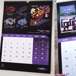 Retroherní kalendář ChinnyVision Calendar 2017