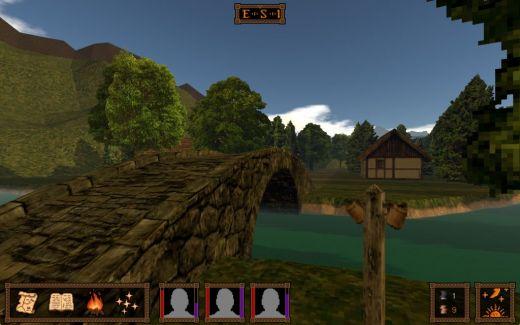 Call of Saregnar, retro indie RPG ve vývoji