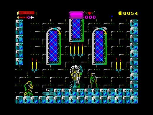 Novinka pro ZX Spectrum 128: Castlevania Spectral Interlude