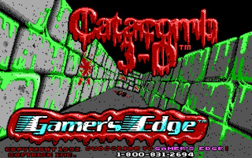 FPS deník: Catacomb 3-D