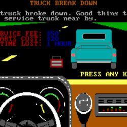 Cross Country Trucking, novinka pro DOS