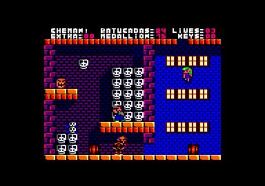Che-man, novinka pro Amstrad CPC, ZX Spectrum a NES