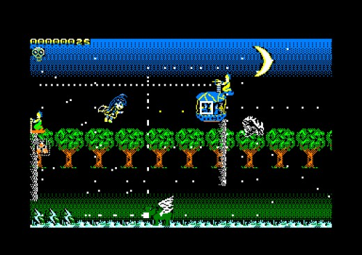 Chibi Akumas Episode 2: Confrontation! – smršť kulek podruhé (Amstrad CPC)
