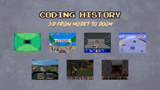 Zajímavé kickstartery – Coding History: 3D from Mode7 to DOOM