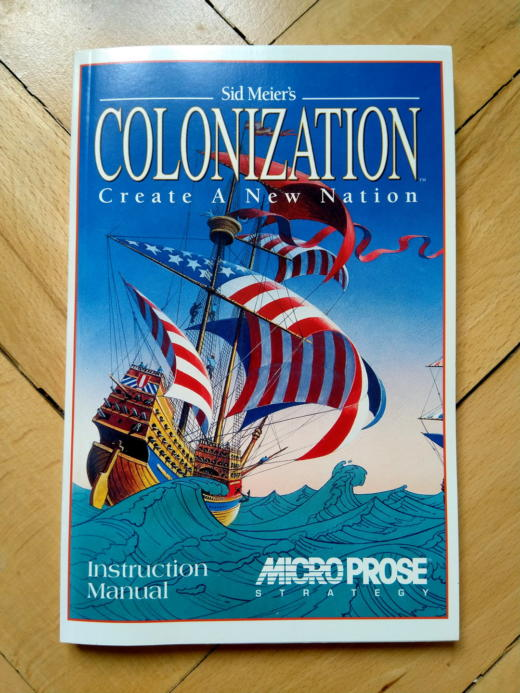 Krabice: Sid Meier's Colonization