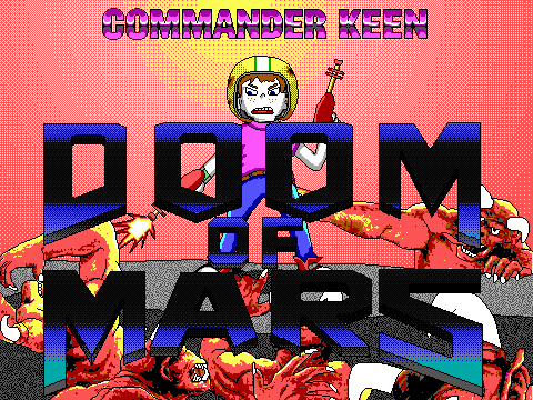 Commander Keen: Doom of Mars – retro plná hra zdarma