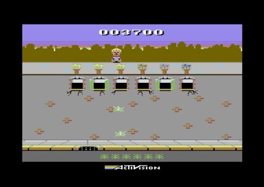 Crackpots, port z Atari 2600 na Commodore 64