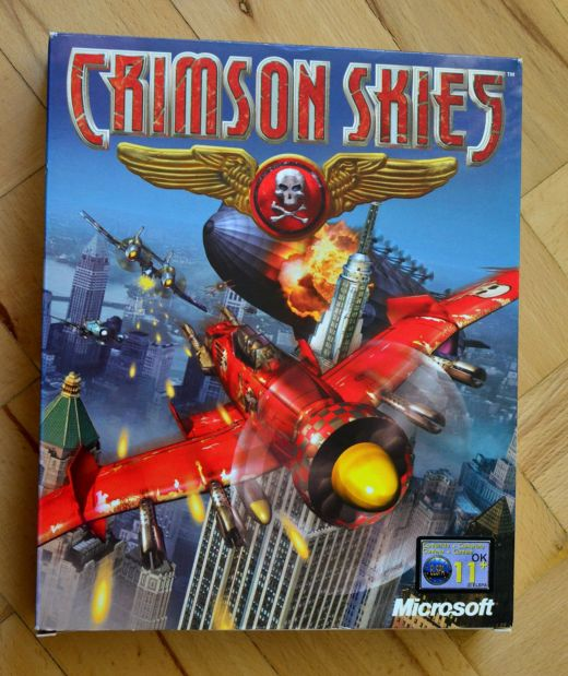Krabice: Crimson Skies