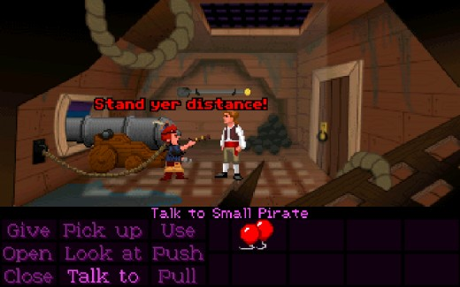 Curse of Monkey Island remake! (Old School Edition)