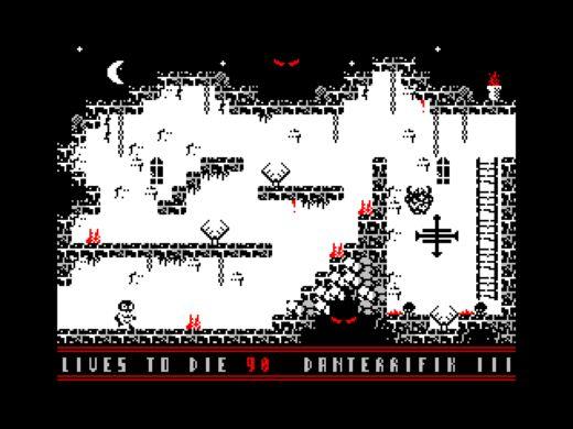 Danterrifik III, pekelná plošinovka pro ZX Spectrum