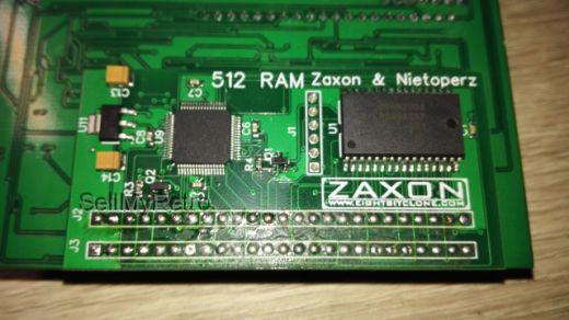 512kb operační paměti pro Amstrad CPC