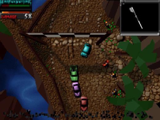 Death Rally (Classic) zdarma na Steamu