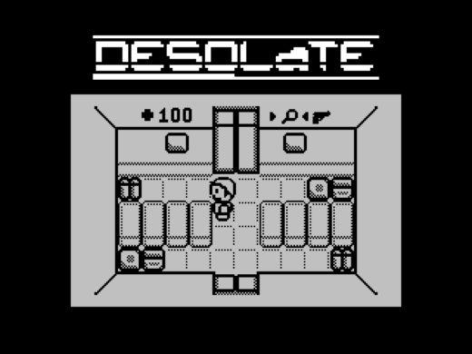 Desolate, port z TI-83 na ZX Spectrum