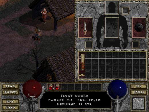 Diablo DevilutionX v novej verzii s integer scalingom