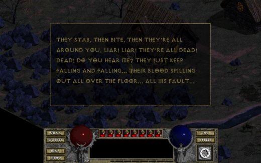 Diablo – věřte mi nebo ne, chtěl jsem si dát jen screenshot