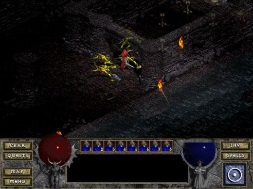 Diablo – nadčasové minimalistické RPG