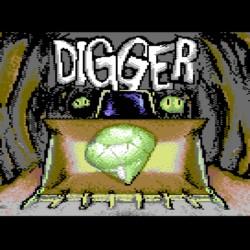 Digger, z PC na C64