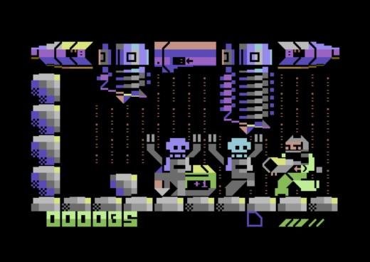 Digiloi, PETSCII plošinovka pro Commodore 64