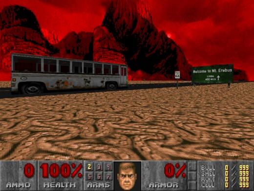 Revenant Bus, pekelná variace na Desert Bus