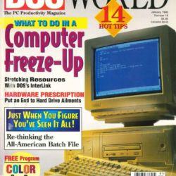 Skeny časopisu DOS World nově na archive.org