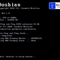 Dosbian – 486 na Raspberry PI