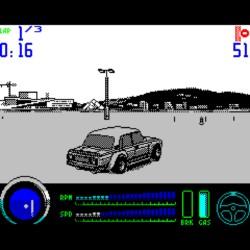 Drift! Závodní novinka pro ZX Spectrum (a nálož dalších povedených her)