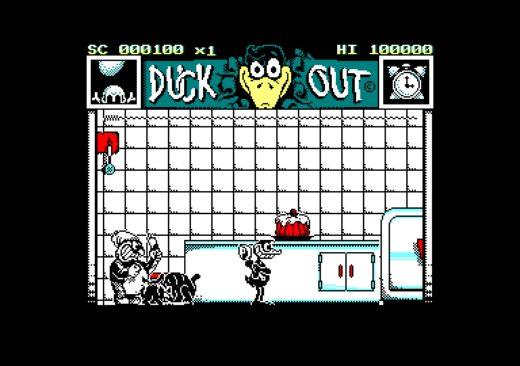 Duck Out, novinka pro Amstrad CPC