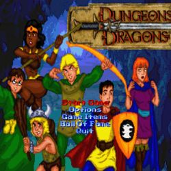 Dungeons and Dragons, fanouškovská retro beat'em up
