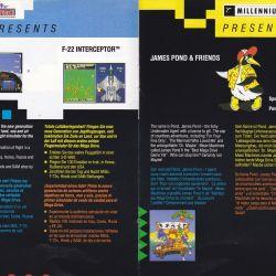 Katalog novinek Electronic Arts pro konzoli SEGA Mega Drive
