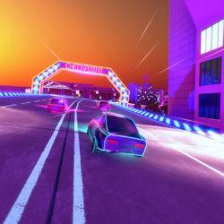 Electro Ride: The Neon Racing, neonové závody na té špatné straně železné opony