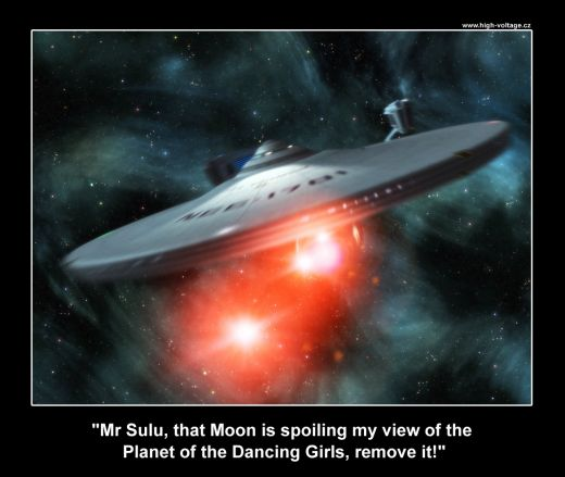 James T. Kirk takes command of the Enterprise