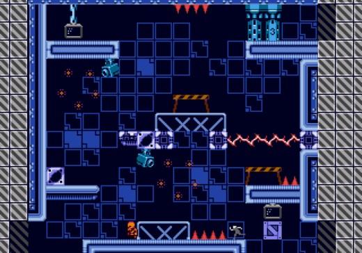 Escape 2042, akční hopsačka pro Atari STe