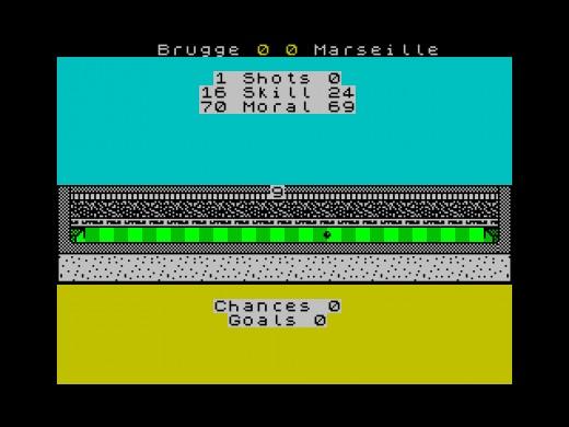 Eurostriker, nový fotbalový manažer pro ZX Spectrum