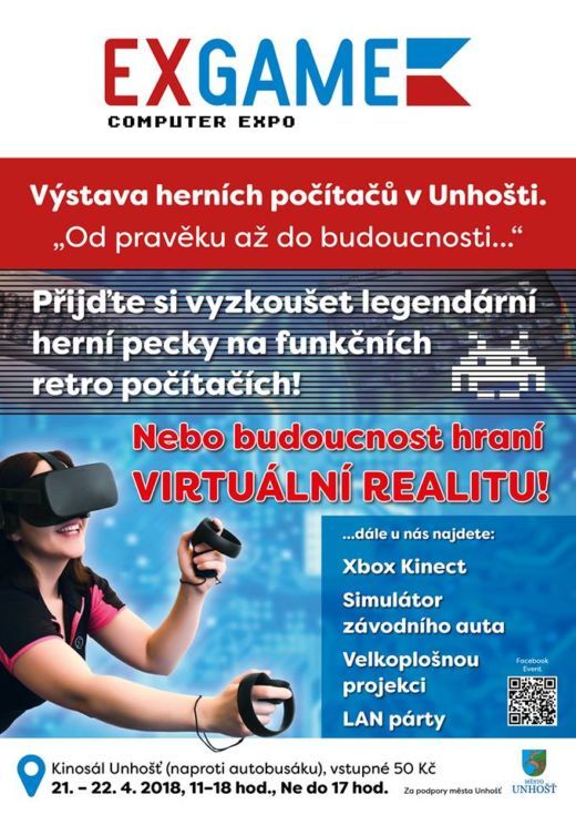 ExGame – výstava herních počítačů v Unhošti