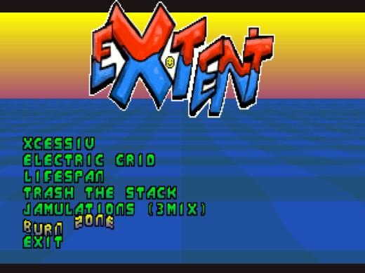 EXTENT, musicdisk se šesticí OPL3 skladeb