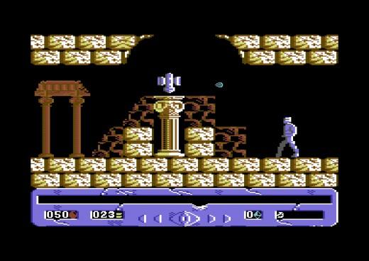 Eye of the Gods, nová hra pro Commodore 64