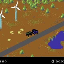 Farming Simulator pro Commodore 64
