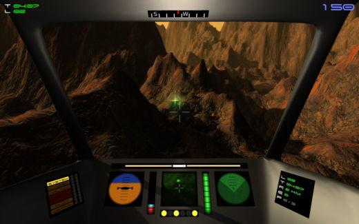 Zahrajte si moderní PC remake Rescue on Fractalus