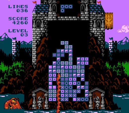 From Below, nový Tetris pro NES