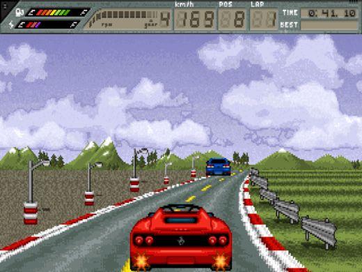 RetroFuel, nová závodní hra pro DOS