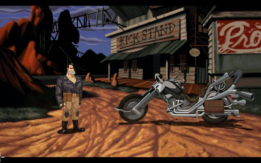 Krátké dojmy z Full Throttle Remastered