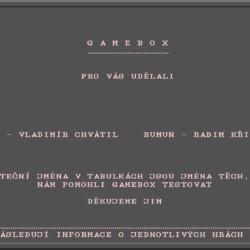 Hráli jste: GameBox?