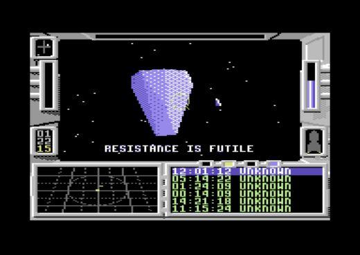 Gates of the Ancient, vesmírný simulátor pro C64