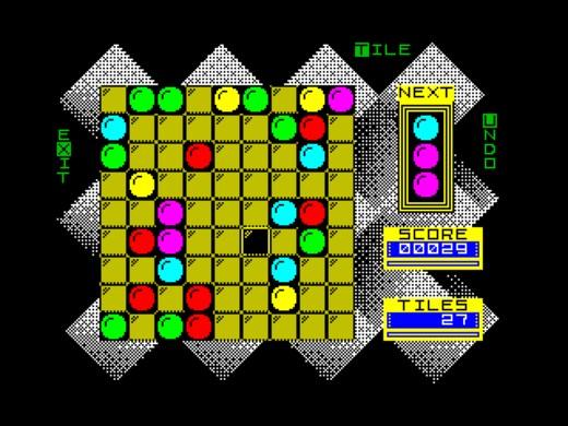 Gem Slider, logická novinka pro ZX Spectrum