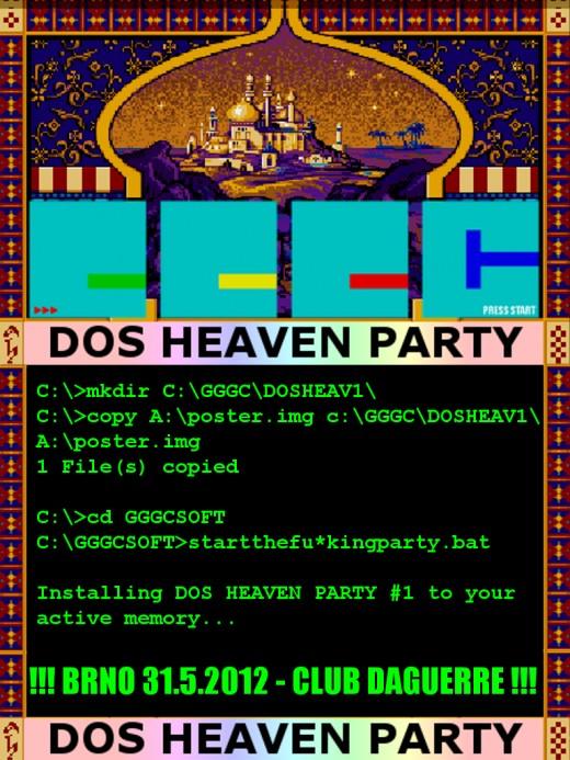 DOS HEAVEN PARTY #1 ve čtvrtek v Brně