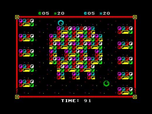 GLAZX, akční mulťák pro ZX Spectrum