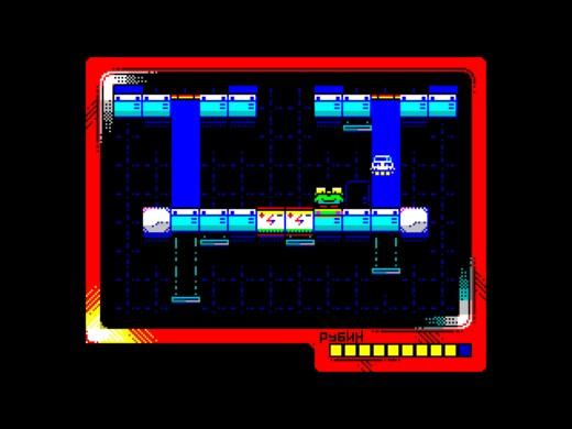 GLUF, nová multicolor plošinovka pro ZX Spectrum