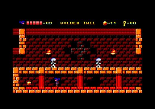 Golden Tail, nová hopsačka pro Amstrad CPC