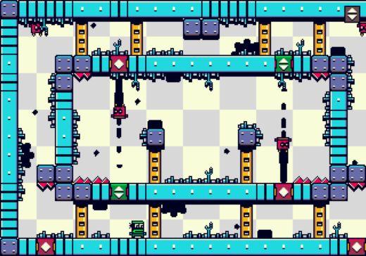 GraviBots, logická novinka pro Mega Drive