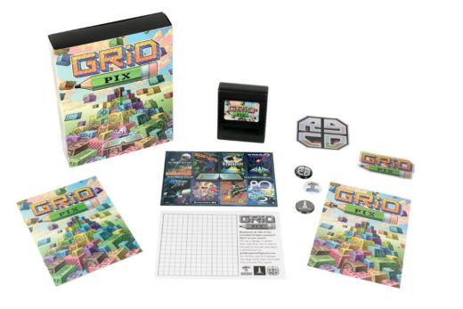 GRID PIX – nová hra pro Commodore 64